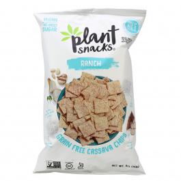 Plant Snacks Ranch Cassava Root Chips, 142g