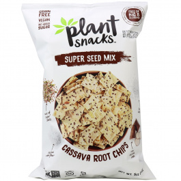 Plant Snacks Super Seed Mix Cassava Root Chips, 142g
