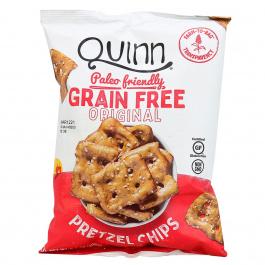Quinn Grain Free Original Pretzel Chips, 156g