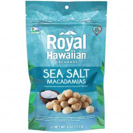 Royal Hawaiian Orchards Sea Salt Macadamia Nuts, 113g