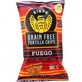 Siete Fuego Grain Free Tortilla Chips, 113g