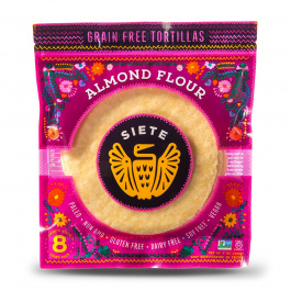 Siete Almond Flour Tortillas 8-Count, 200g