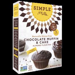 Simple Mills Chocolate Muffin & Cupcake Mix, 295g
