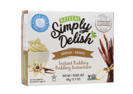 Simply Delish Sugar Free Vanilla Pudding, 48g
