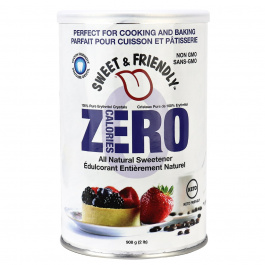 Sweet & Friendly 100% Pure Erythritol Cannister, 908g