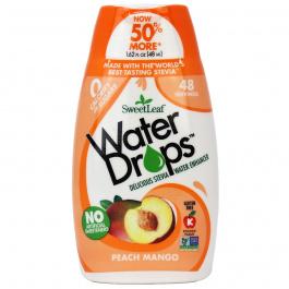 Sweetleaf Peach Mango Water Drops, 48ml