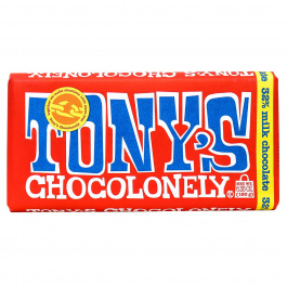 Tony's Chocolonely Milk Chocolate 32%, 180g