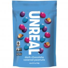 Unreal Dark Chocolate Peanut Gems, 142g