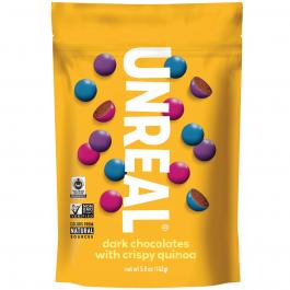Unreal Dark Chocolate Crispy Quinoa Gems, 142g