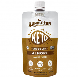 Yum Butter Keto Nut Butter Chocolate Almond, 96g