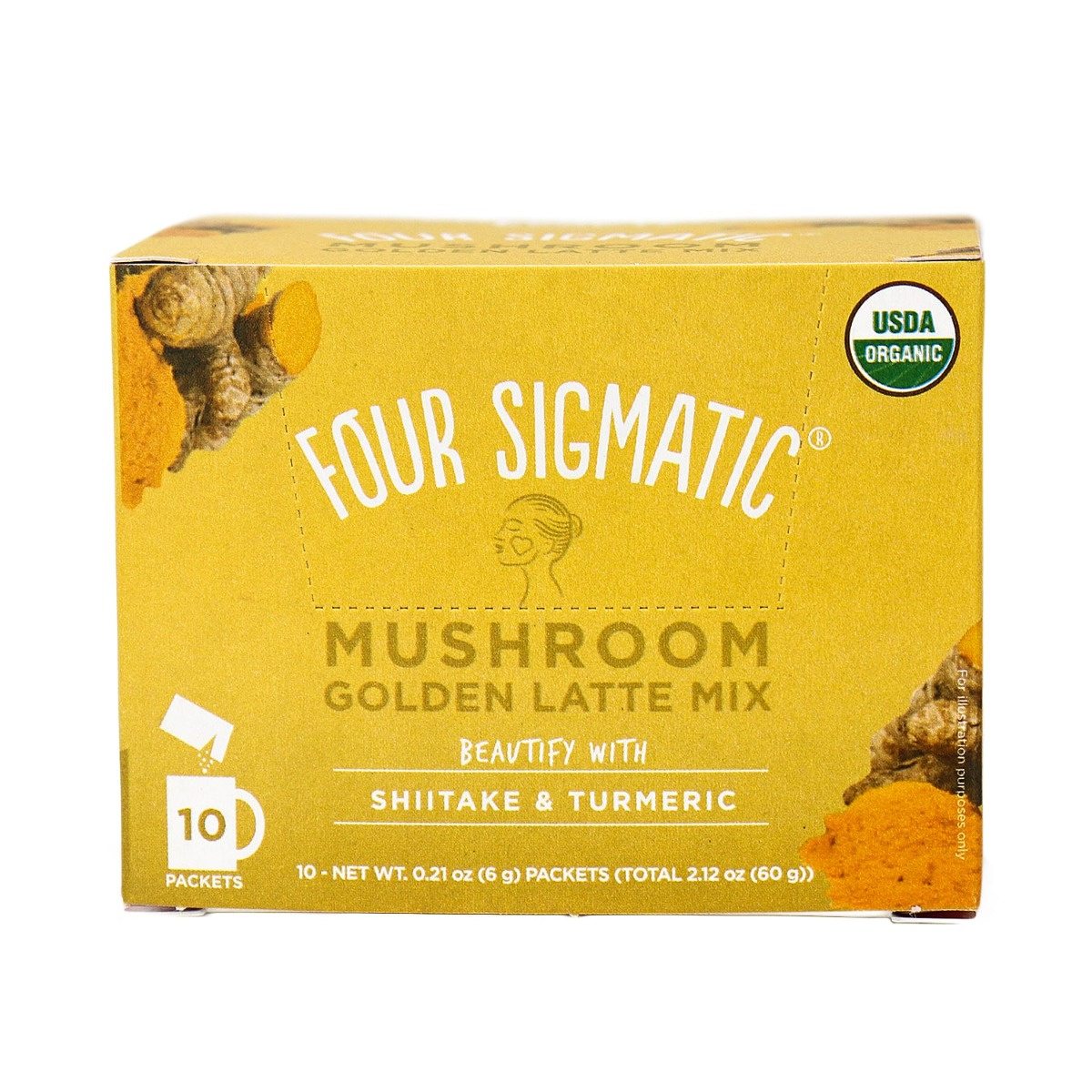 Four Sigmatic Mushroom Golden Latte Mix With Shiitake