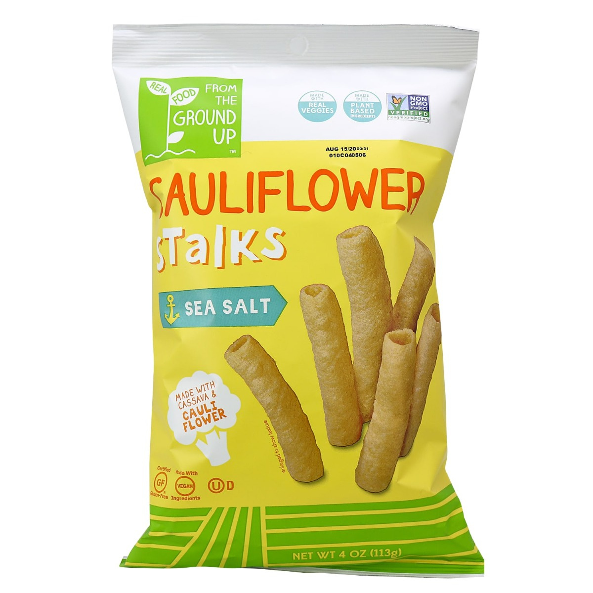 From The Ground Up from the ground up cauliflower stalks sea salt, 113g