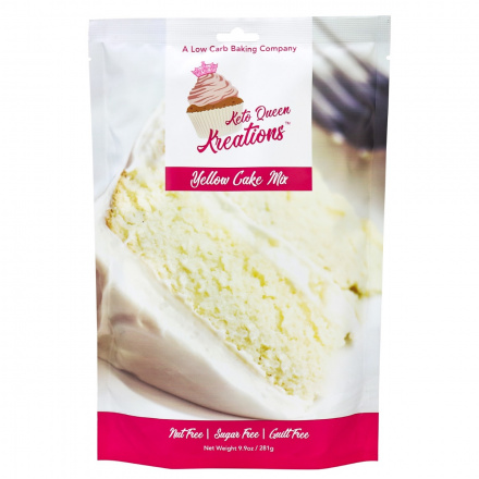 Keto Queen Kreations Yellow Cake Mix, 281g