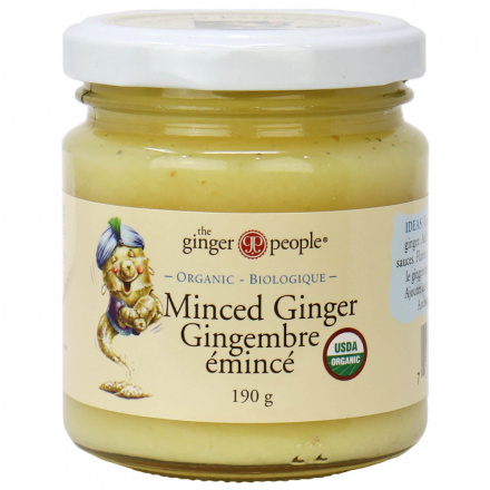 The Ginger People Organic Minced Ginger, 190g