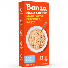 Banza Chickpea Pasta White Cheddar Mac & Cheese, 156g
