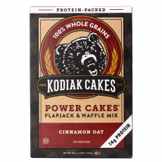 Kodiak Cakes Cinnamon Oat Power Cakes Flapjack & Waffle Mix, 567g