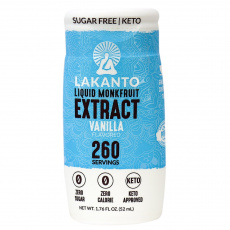 Lakanto Liquid Monkfruit Extract - Vanilla, 52mL