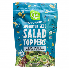 Go Raw Sprouted Seed Salad Toppers - Sea Salt & Cracked Pepper, 113g