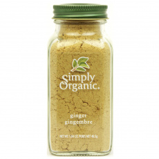 Simply Organic Ginger Root Ground, 46g