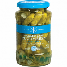 Tillen Farms Pickled Baby Cucumbers, 350g