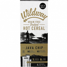 Wildway Grain-free Instant Hot Cereal Java Chip 4 Packets, 198g