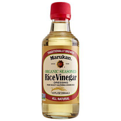 Marukan Organic Seasoned Rice Vinegar Dressing, 355ml