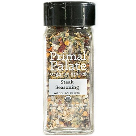 Primal Palate Organic Steak Seasoning, 68g